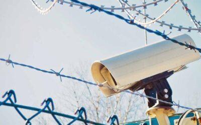 Como os sistemas CCTV podem ajudar os canteiros de obras
